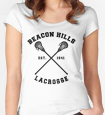 Beacon Hills Lacrosse - Teen Wolf! Women's Fitted Scoop T-Shirt