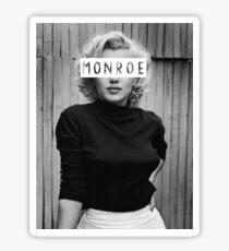 Monroe #3 Sticker