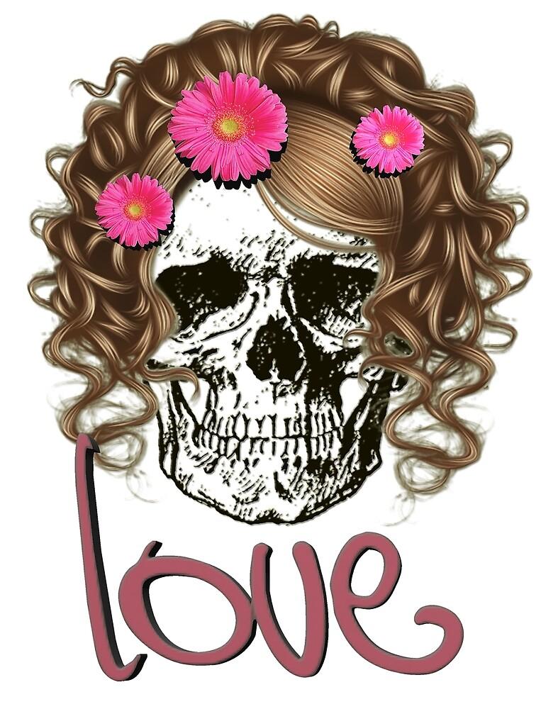 Miss Skull by Muge Basak