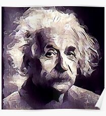 Albert Einstein Famous Scientist Poster