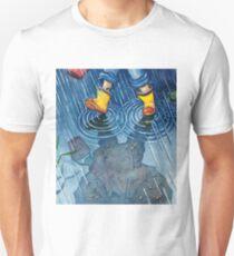 """""""A Walk in the Rain"""" Unisex T-Shirt"""