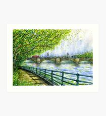 Putney Bridge Art Print