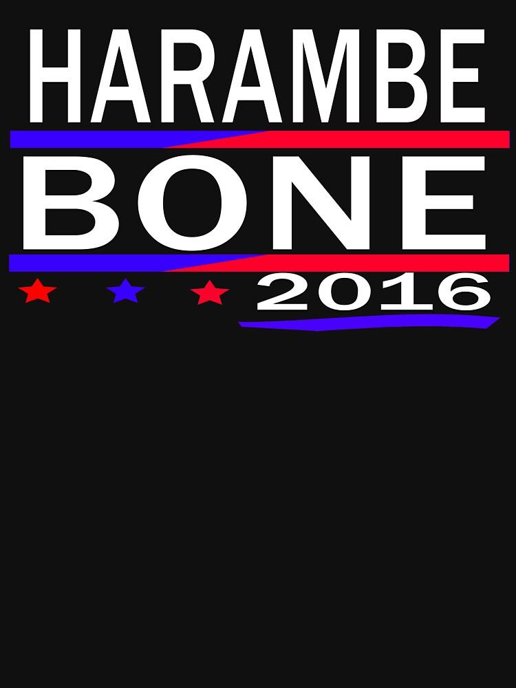 HARAMBE Y KEN BONE 2016 de earlstevens