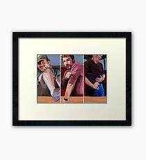 Battle Scars Framed Print