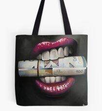 Money Bite Tote Bag