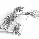 Sorceress Casts a Spell by Betsy Streeter