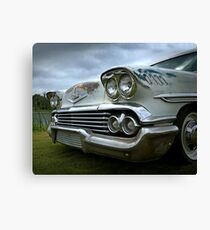 1958 Chevy Brookwood Canvas Print