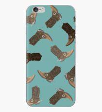 Cowboy Boots pattern iPhone Case