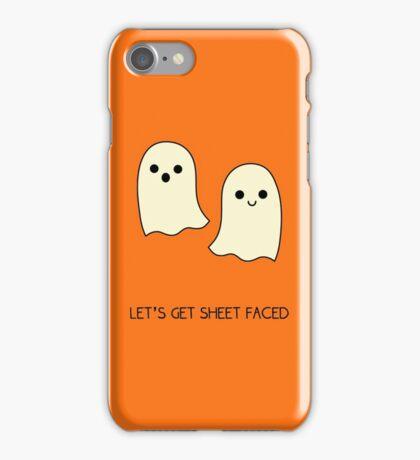 Let's Get Sheet Faced iPhone Case/Skin