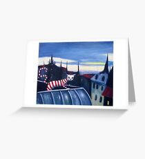 Hot Cat On A Tin Roof Greeting Card