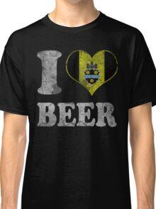 I Heart Pittsburgh Beer Classic T-Shirt