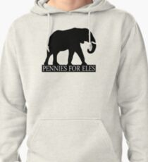 Pennies for Eles - Salvation through Conservation Pullover Hoodie