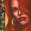 Redhead by Alga Washington