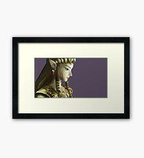 Princess Of Twilight Low Poly Framed Print