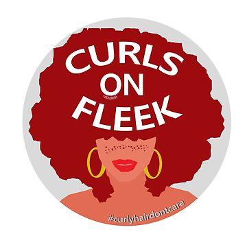 Curls On Fleek (Red Hair) by BohoRho