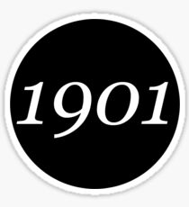 1901 Sticker