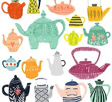 Have a Tea-riffic Day! by Claire Mabbett