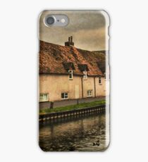 Weavers Cottages By The Kennet In Newbury iPhone Case/Skin