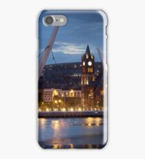 The Peace Bridge - Derry City iPhone Case/Skin