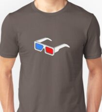 3D Glasses T Shirt  T-Shirt