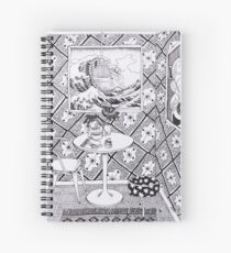 The drawing room Spiral Notebook