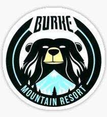 Burke Mountain Resort Logo (Ski the East) Sticker