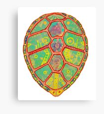 Psychedelic Turtle Canvas Print