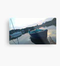 .Boats In The Arm. Metal Print