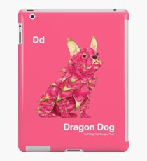 Dd - Dragon Dog // Half Dog, Half Dragon Fruit iPad Case/Skin