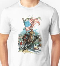 1902 Rough Rider Teddy Roosevelt Unisex T-Shirt