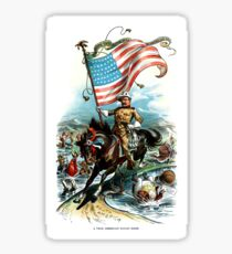 1902 Rough Rider Teddy Roosevelt Sticker
