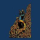 Celtic Cat by Rose Gerard