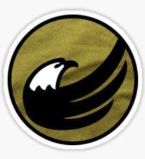 Fabric Libertarian Party Logo Torch Eagle Liberty Sticker
