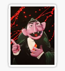 The Bloody Count Sticker