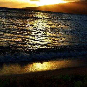 Maui Sunset  by Kaitbrooks35