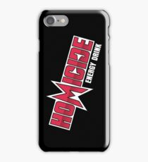 Silicon Valley Homicide Energy Drink iPhone Case/Skin