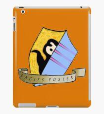Laziness coat of arms iPad Case/Skin