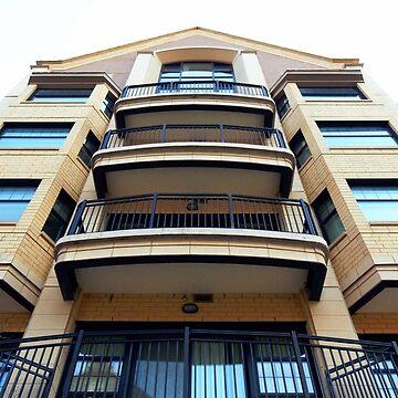 Perspective Apartment Complex by rcschmidt
