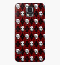 Killer Queen (Kastanienbraun) Hülle & Klebefolie für Samsung Galaxy
