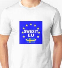SWEXIT Sweden leave EU T-Shirt