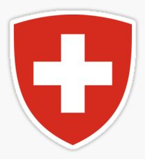 Switzerland Coat of Arms Sticker
