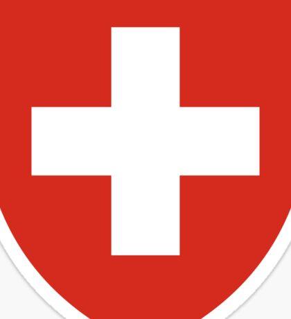 Switzerland Coat of Arms Sticker