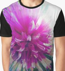 Macro Pink Flower Photography Graphic T-Shirt