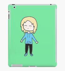 Alice Chibi with green background iPad Case/Skin