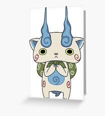 Yo - Kai Watch - Komasan #099 Greeting Card