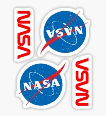 NASA ×4 Sticker