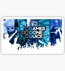Games Done Quick Sticker
