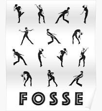 Fosse Moves Poster