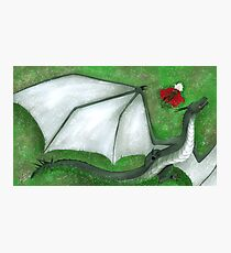 Fearsome Wyvern Indeed  Photographic Print