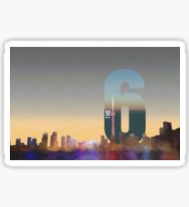 Toronto Skyline – The Six Sticker